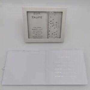 Taufbrief Unisex silber