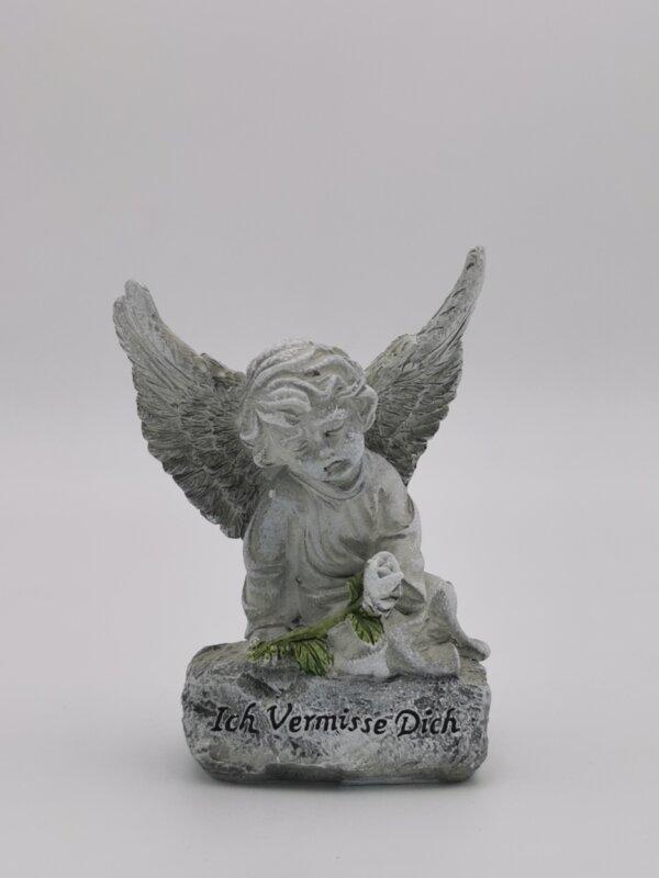 Trauerartikel Engel mit Spruch