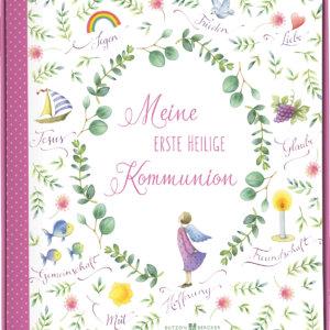 Geschenkbuch und Album Kommunion